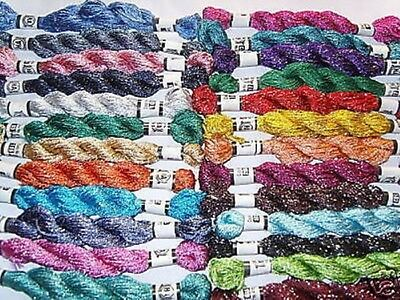 25  Silk  Embroidery Floss/Threads 25 Colours, High Quality, Great Product