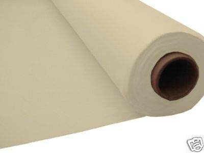 100ft IVORY Plastic Banquet Roll Table Cover Buffet