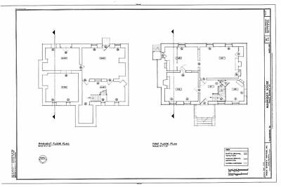 Dutch Colonial stone house, architectural plans, traditional gambrel roof design