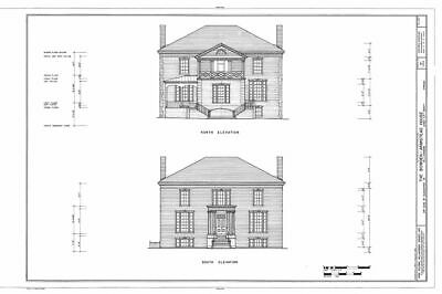 Historic Colonial Williamsburg house plans