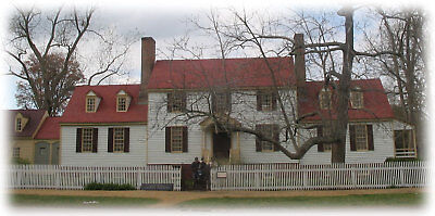 Authentic Williamsburg Colonial Home plans, traditional wood country house