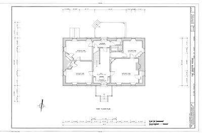 Traditional Style Colonial Home Plan, Williamsburg VA, brick construction