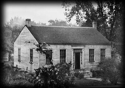 House Plan - Wood and Stone Colonial Style cottage, historic blueprints