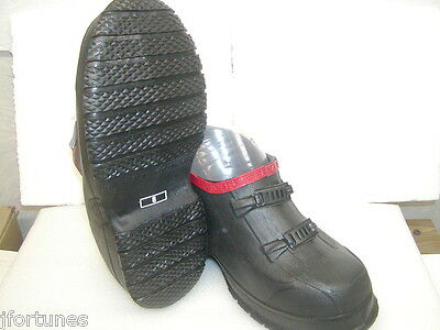T469 Servus 2 buckle  galoshes overshoes rubbers Heavy Duty fits boxy work boots