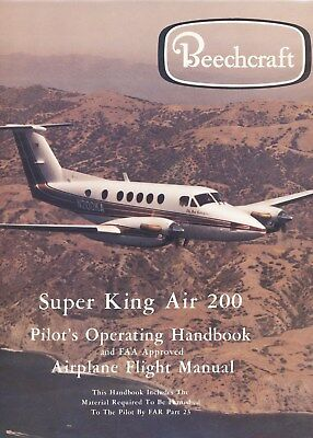 Beechcraft Super King Air 200 - Flight Manual