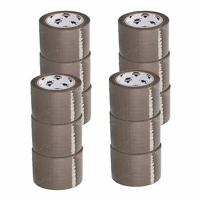 3 inch Tan Packing Tape 12 Jumbo Rolls