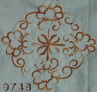 Variegated Machine Embroidery Thread 1,000 Mtr No 9748