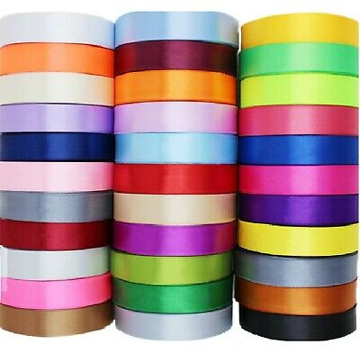 SATIN RIBBON x 20 ROLLS ,20 Different Colours, Size 38 MM, Wholesale Price