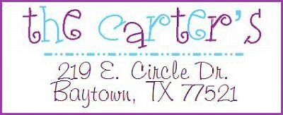 ~YOUR FABULOUS NAME ~ Lazer  Address Labels! Too Cute!
