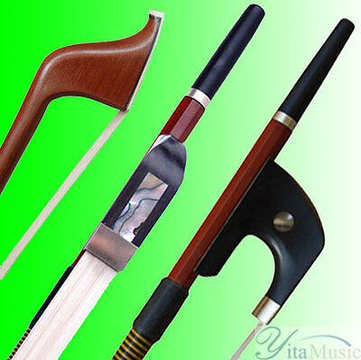 Highest Quality Brazilwood Double Bass Bow German Style