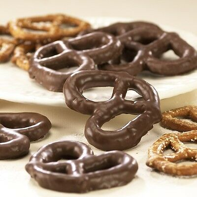 SweetGourmet Asher's Milk Chocolate Covered Pretzels - 2LB FREE SHIPPING!