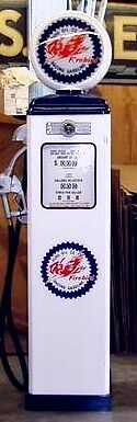 New Pure Firebird Gas Pump Antique Reproduction Replica - Free Shipping*