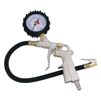 """Air Tyre Inflator with Easy to Read Gauge  - 1/4"""" inlet"""