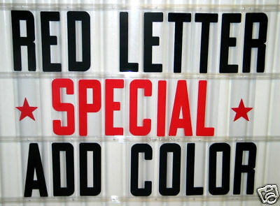 """320 Flex LETTERS 4 Outdoor Portable Marquee SIGNS 8"""""""