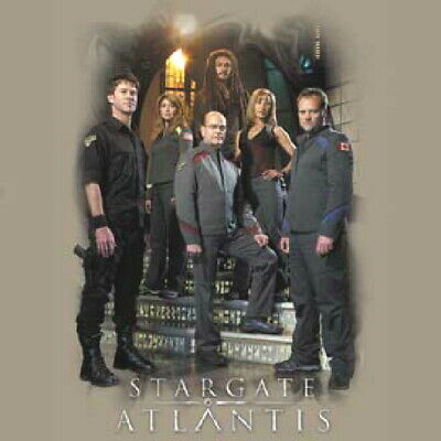 Stargate Atlantis Explorers 5th Season Cast T-Shirt NEW