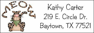~THE CAT'S MEOW~  Lazer Address Labels!