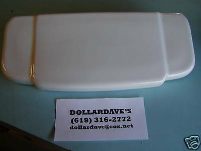 Antique Universal Rundle Toilet Tank Cover from 1947