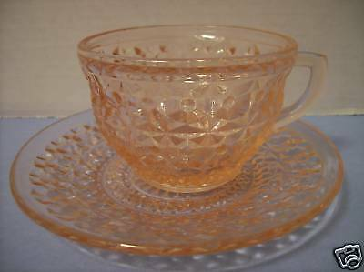 """Jeannette """"Holiday Buttons & Bows"""" Cup & Saucer"""