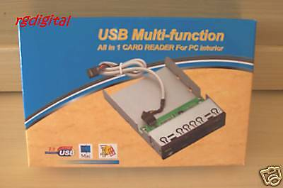 CARD READER INTERNO 3,5 -  25 IN 1 +USB prezzo super
