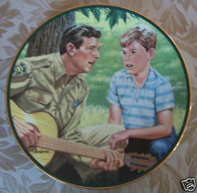 Andy Griffith Show MAYBERRY SING-A-LONG Collector Plate