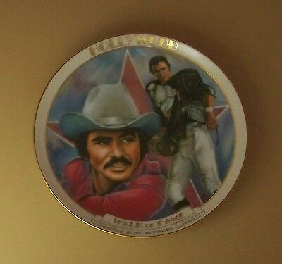 BURT REYNOLDS  Plate HOLLYWOOD WALK OF FAME Danbury