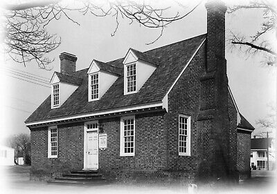 Historic Colonial Williamsburg House Plans Picclick