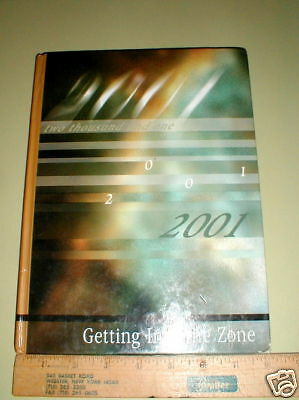 2001 Bernice Ayer School San Clemente CA Calif Yearbook