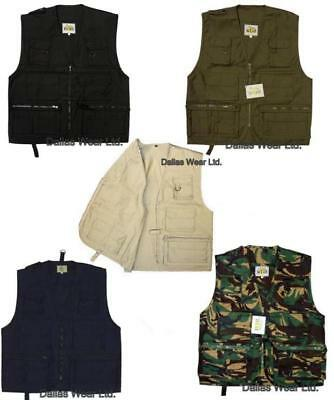 Multi-Pocket Fishing Hunting Shooting Vest Waistcoat