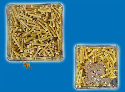 Floats And Wicks From Greek Beeswax For Vigil Lamps 2 Boxes No.7620-40