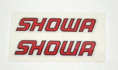SHOWA DECALS / STICKERS for SHOCK / FORKS - Ducati +