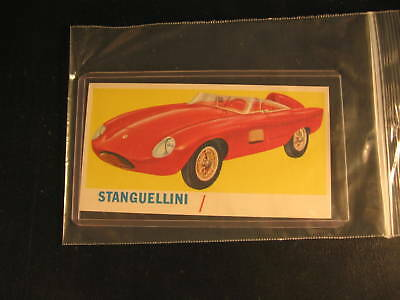 1961 Topps Sports Cars Proof Card Stanguellini