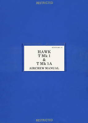 BAE HAWK T.Mk.1 & T.Mk.1A - AIRCREW MANUAL + BROCHURE