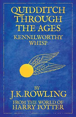 Quidditch Through the Ages by J.K. Rowling Paperback Book