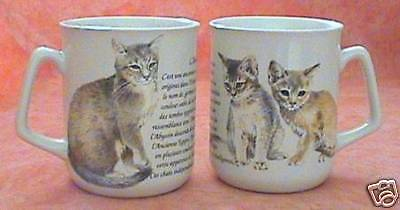 Mug - Tasse Chat Abyssin