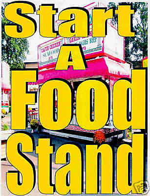 Mobile Food Stand Concession Trailer Business Make Money Be Your Own Boss