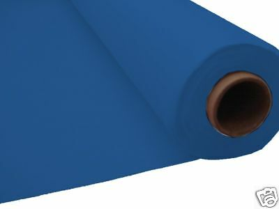 100ft ROYAL BLUE Plastic Banquet Roll Table Buffet