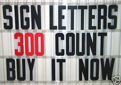 """NEW 8"""" Plastic Outdoor Reader board Marquee SIGN LETTERS"""
