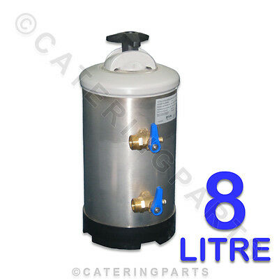 "8L 8 LITRE 3/4"" DVA MANUAL WATER SOFTENER 1Kg SALT REGENERATION TYPE C/W RESIN"