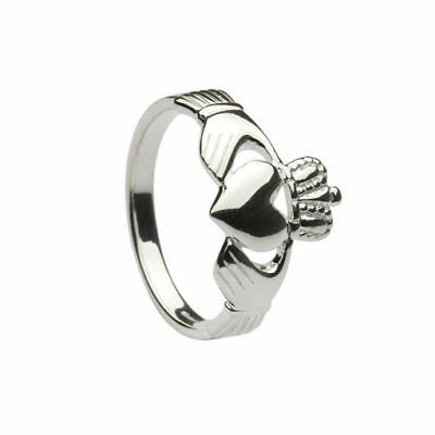 Claddagh Celtic Ring Size 5.5 Handcrafted in Ireland