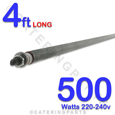 """HE4805 48"""" 1220mm 500w 0.5Kw 240v DRY / WET ROD TYPE 8MM HEATING ELEMENTS"""
