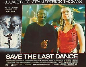 SAVE THE LAST DANCE 11x14 Lobby Cards Set Julia Stiles
