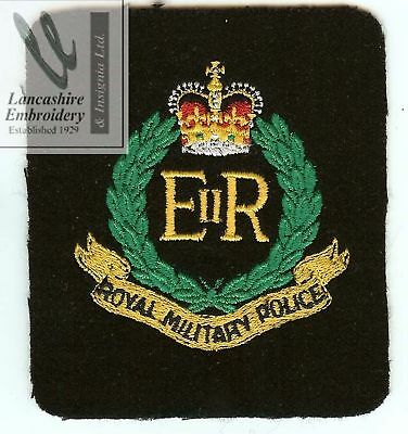 NEW Lancashire Embroidery Royal military police badge