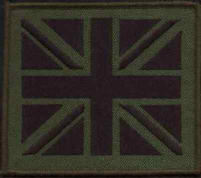 New Subdued Union Jack Patch 100mmx85mm