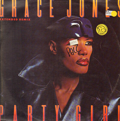 GRACE JONES - Party Girl - 1996 Manhattan Records - Emi Italy ‎– 14 2016966