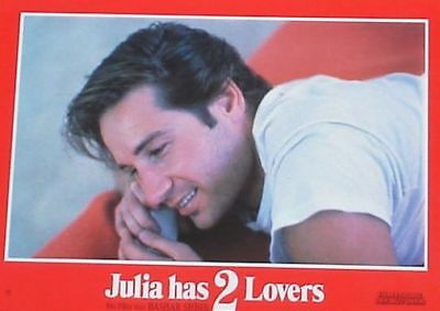 JULIA HAS 2 TWO LOVERS - Lobby Cards Set - David Duchovny