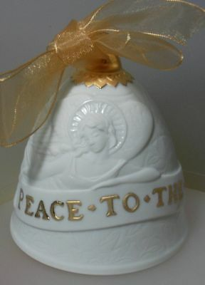 """Lladro Made In Spain  """"2007 Christmas Bell"""" 7093 Mint & Reduced"""