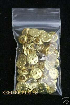 25 Metal Hat Pin Backs Us Army Marines Navy Air Force Butterfly Clutch Tie Tacs