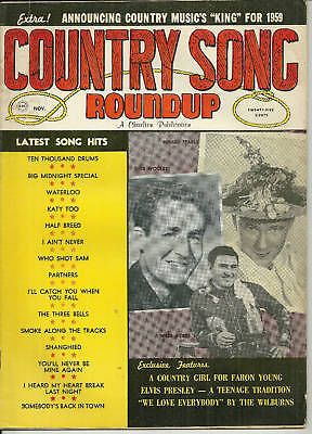 Nov 1959 Country Song Roundup #63 Minnie Pearl