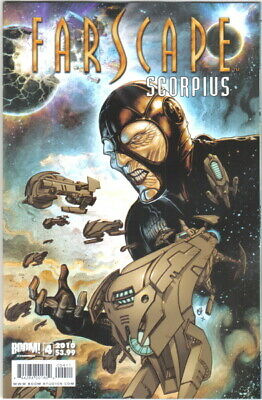Farscape Scorpius Comic Book #4, Boom! 2010 NEW UNREAD