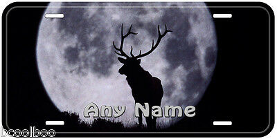 Deer In The Dark Personalized Any Name Aluminum Car Auto License Plate